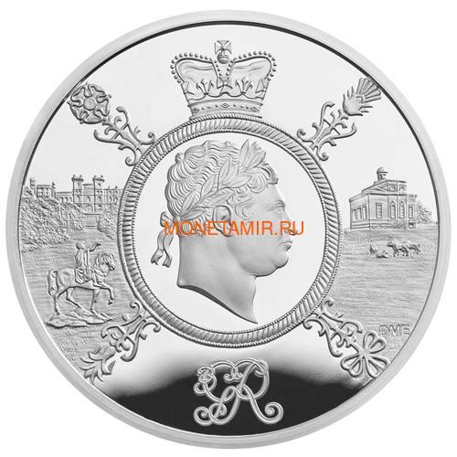 Великобритания 5 фунтов 2020 Король Георг III (GB 5£ 2020 A Celebration of the Reign of George III Silver Proof Coin).Арт.65 (фото)