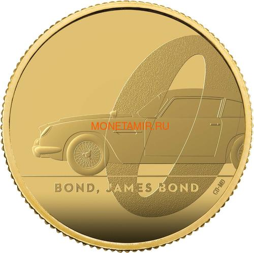 Великобритания 25 фунтов 2020 Джеймс Бонд (GB 25£ 2020 James Bond Gold Proof Coin).Арт.65 (фото)