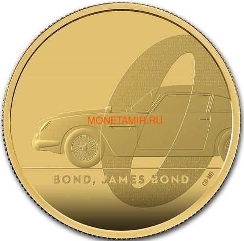 Великобритания 200 фунтов 2020 Джеймс Бонд (GB 200£ 2020 James Bond 2oz Gold Proof Coin).Арт.65 (фото)
