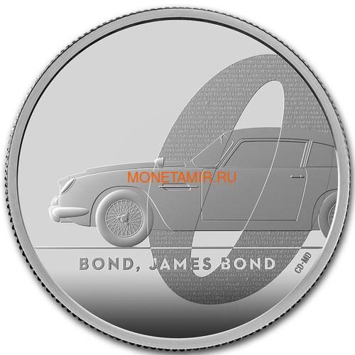 Великобритания 5 фунтов 2020 Джеймс Бонд (GB 5£ 2020 James Bond 2oz Silver Proof Coin).Арт.65 (фото)