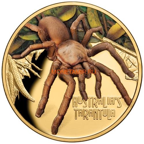 Ниуэ 100 долларов 2020 Тарантул Паук серия Смертельно Опасные (Niue 2020 $100 Tarantula Deadly and Dangerous 1oz Gold Proof Coin)Арт.88 (фото)