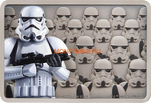 Ниуэ 2 доллара 2020 Звездные Войны Гвардия Империи Штурмовик (Niue 2$ 2020 Star Wars Guards Of The Empire Stormtrooper 1oz Silver Coin).Арт.92 (фото)