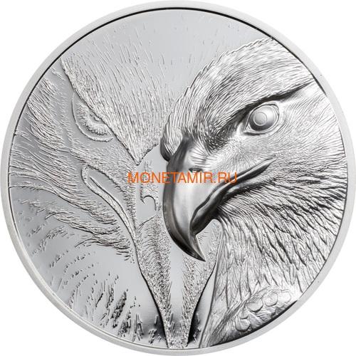 Монголия 500 тугриков 2020 Величественный Орел ( Mogolia 500T 2020 Majestic Eagle 1oz Silver Coin ).Арт.92 (фото)