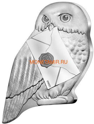 Франция 10 евро 2021 Гарри Поттер Хедвиг Букля Полярная Сова ( France 10 euro 2021 Harry Potter Hedwig Owl Silver Coin ).Арт.90 (фото)