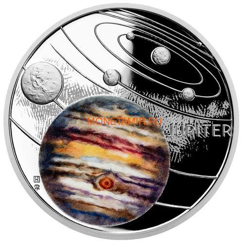 Ниуэ 1 доллар 2020 Солнечная Система Юпитер (Niue 1$ 2020 Solar System Jupiter 1Oz Silver Coin).Арт.CZ/92 (фото)
