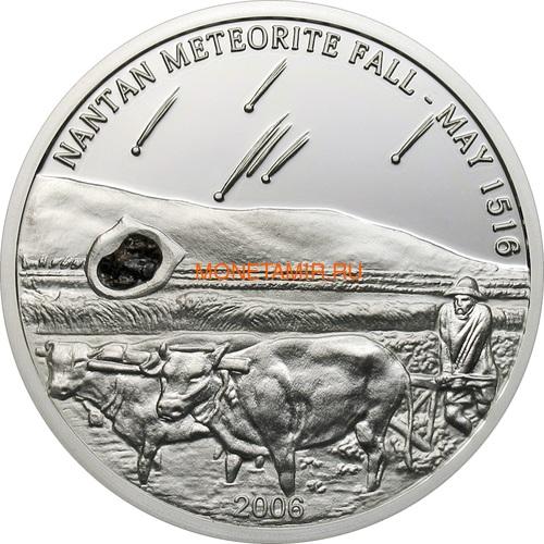 Палау 5 долларов 2006 Метеорит Нантан (Palau 5$ 2006 Meteorite Nantan).Арт.60