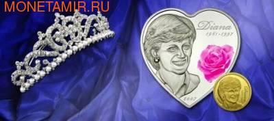 Острова Кука 5 долларов 2007.Диана - Принцесса Уэльская (1961 - 1997).Арт.60