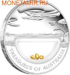 """""""Сокровища Австралии"""" (с инкапсулированным золотом)"""