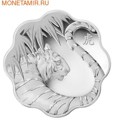 Канада 15 долларов 2010. «Год Тигра» в форме лотоса