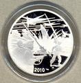 Франция 10 евро 2010. Блейк и Мортимер