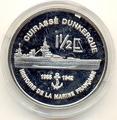 Мартиника 1,5 евро 2004 Корабль Дюнкерк
