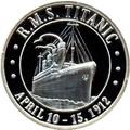Сомали 20 долларов 1998 Корабль Титаник.Арт.000155145123/60