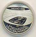 Чемпионат мира - Мексика 1986 (стадион). Венгрия 500 форинтов 1986.