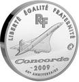 Франция 50 евро 2009 Конкорд Авиация (France 50E 2009 Concorde).Арт.001095519521/60