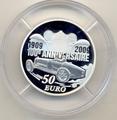 Франция 50 евро 2009 Эторе Бугатти (France 50E 2009 Ettore Bugatti).Арт.001102220440/60