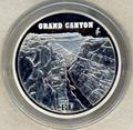 Франция 1,5 евро 2008. Гранд-Каньон.