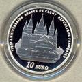 Франция 10 евро 2010. Европа 2010. Аббатство Клюни