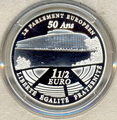 Франция 1 1/2 евро 2008. Парламент