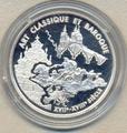Франция 6,55957 франков 2000. Искусство : барокко и классика