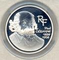 Франция 1,5 евро 2006. Поль Сезанн (1839-1906)