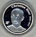 Франция 1,5 евро 2007. Кристиан Диор.