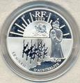 Франция 1,5 евро 2005. Двухсотлетие победы битвы Аустерлиц.