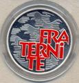 Франция 6,55957 франков 2001. Братство