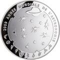 Франция 10 евро 2009. Год астрономии.
