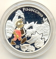 Франция 1 1/2 евро 2002. Пиноккио