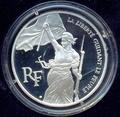 Франция 100 франков 1993. Свобода мышления