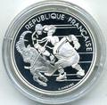 Франция 100 франков 1991. Олимпиада 1992 - хоккей
