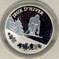 Франция 10 евро 2009. Горные лыжи