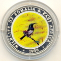 Сомали 250 шиллингов 1998.Птица - Оливобрюхая нектарница серия Живая природа.Арт.000069016182/60