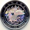 Канада 5 долларов 2002. Утка (голограмма)