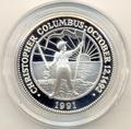 Багамы 5 долларов 1991. Христофор Колумб.