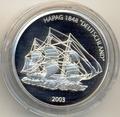Либерия 10 долларов 2003.Корабль Германия (Deutschland).Арт.000085020879