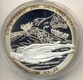 Острова Кука 1 доллар 2002. Зимние олимпийские игры. Санный спорт