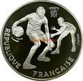 Франция 100 франков 1991. Баскетбол