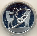 Греция 10 евро 2004. Олимпийские игры - Афины. Гимнастика