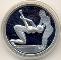 Греция 10 евро 2004. Олимпийские игры - Афины. Прыжки в воду