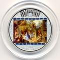"""Острова Кука 20 долларов 2011. """"Шедевры мирового искусства"""": """"Поклонения пастухов"""""""