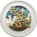 Палау 5 долларов 2012.Осьминог голубой кольчатый - Защита морской жизни.Арт.000196740029/60