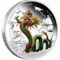 Тувалу 1 доллар 2012.Дракон Китайский - Драконы из легенд.Арт.000310945516/60