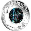 Австралия 1 доллар 2012.Коала - Опал.