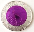 """Австрия 25 евро 2012. """"Бионика""""."""