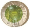 """Австрия 25 евро 2008.""""Искусственное освещение""""."""