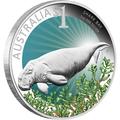 Австралия 1 доллар 2012. Залив Акул