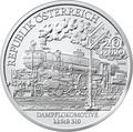 Австрия 20 евро 2008. Паровоз kkStB 310.