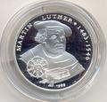 1000 франков. Martin Luther