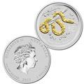 Австралия 1 доллар 2013. Год Змеи